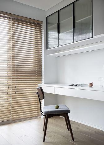 100平米三室两厅日式风格书房图片