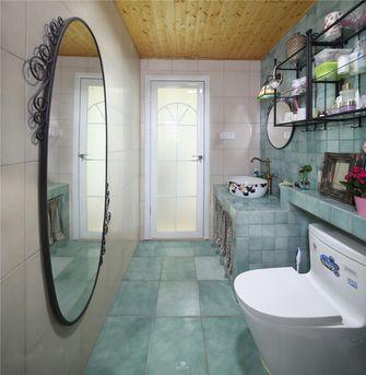 60平米公寓田园风格卫生间设计图