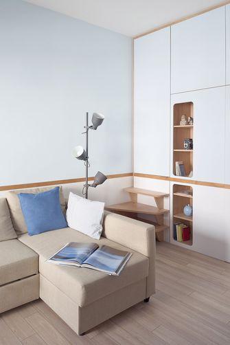 60平米一室一厅中式风格客厅装修图片大全