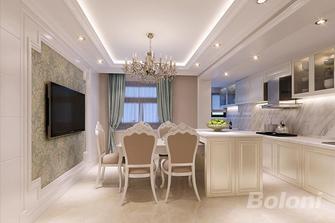 140平米复式欧式风格餐厅欣赏图
