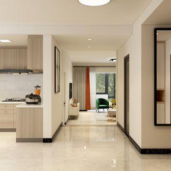 140平米三室一厅混搭风格走廊图片大全