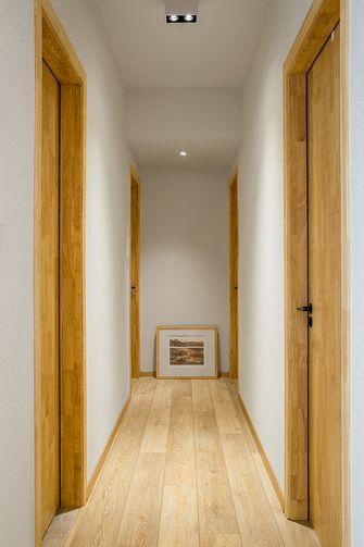 110平米三室两厅日式风格走廊图片