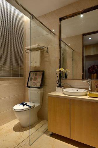 140平米三现代简约风格卫生间浴室柜装修图片大全