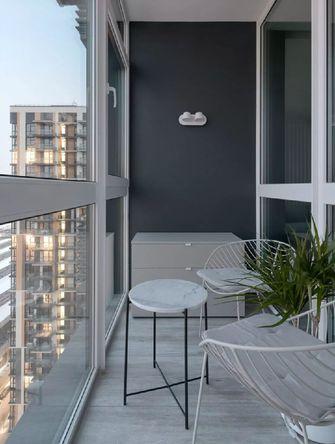 50平米一室一厅现代简约风格阳台装修效果图