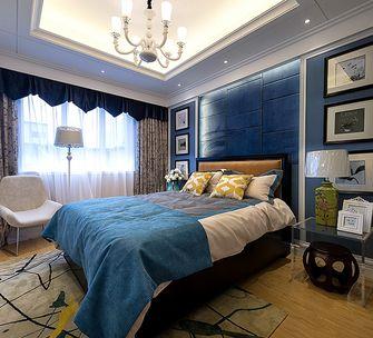 80平米三混搭风格卧室装修效果图