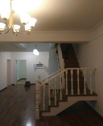 经济型140平米三室两厅田园风格楼梯图片
