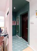 110平米三室两厅宜家风格玄关装修案例