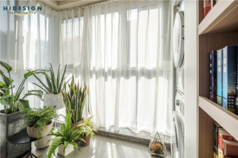 80平米公寓其他风格阳台装修案例