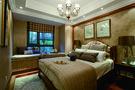 10-15万120平米三室两厅法式风格卧室图