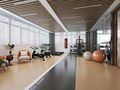 140平米现代简约风格健身室装修效果图