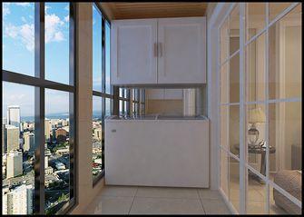 120平米三室一厅现代简约风格阳台图片大全