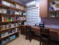 140平米四室两厅中式风格书房图片