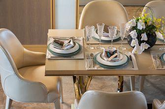 110平米三室两厅新古典风格餐厅装修效果图