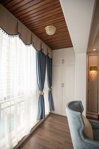 120平米三室两厅地中海风格阳台设计图