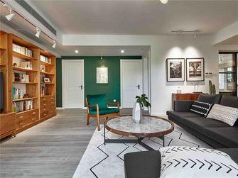 100平米三室一厅混搭风格客厅设计图