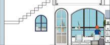 140平米别墅地中海风格阳光房图片