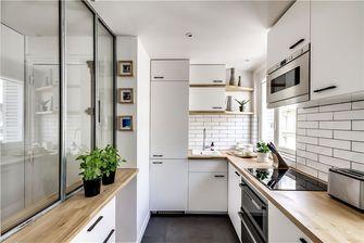 50平米公寓日式风格厨房图