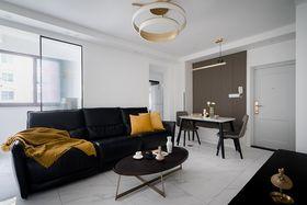 90平米三室一廳現代簡約風格客廳效果圖