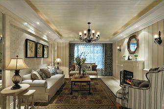 60平米一居室美式风格客厅设计图
