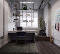 60平米公寓新古典风格客厅装修图片大全