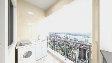 90平米四欧式风格阳台图片