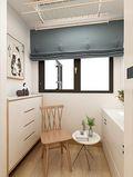 70平米一室一厅日式风格阳台图
