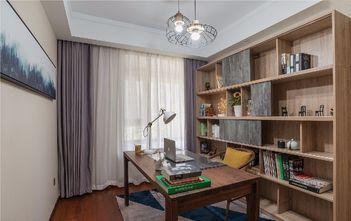 100平米三美式风格书房设计图
