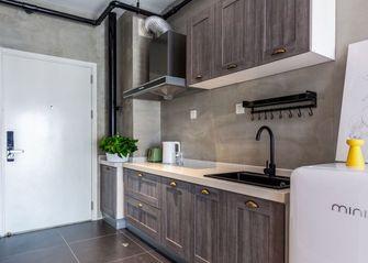 50平米一居室混搭风格厨房图片大全
