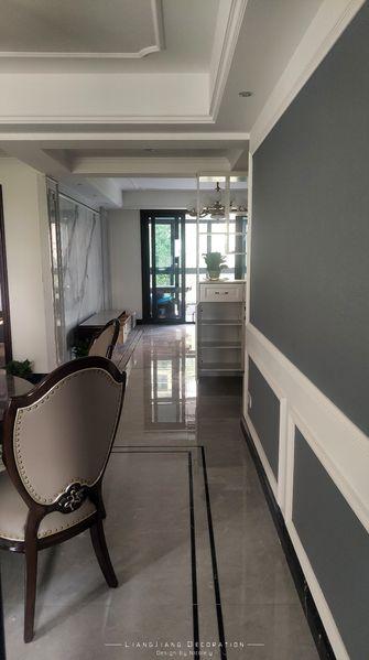 130平米三室一厅美式风格餐厅图片大全