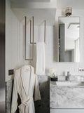 100平米三室两厅现代简约风格卫生间浴室柜装修案例