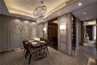 90平米三新古典风格餐厅效果图
