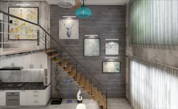 100平米一居室现代简约风格楼梯间图