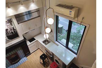 富裕型30平米以下超小户型美式风格客厅图片大全