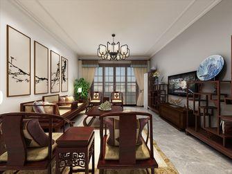 经济型100平米三室一厅新古典风格客厅图片