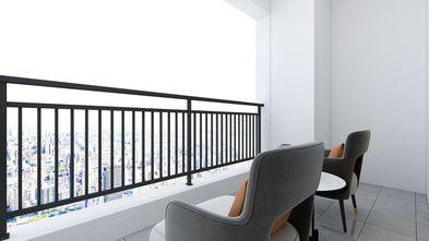 90平米三现代简约风格阳台图片