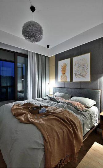 90平米公寓中式风格卧室装修图片大全