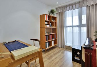 80平米日式风格书房欣赏图