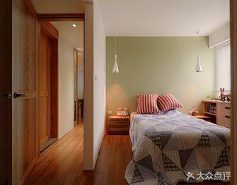 90平米三室一厅田园风格儿童房图