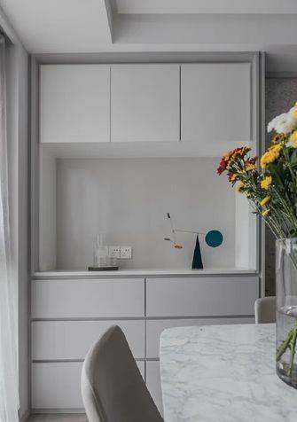 110平米三室两厅现代简约风格储藏室装修效果图