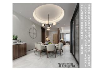 豪华型140平米三中式风格餐厅欣赏图