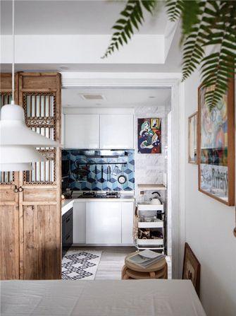 90平米三室两厅北欧风格厨房图片大全