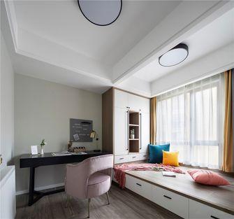 90平米英伦风格卧室装修案例