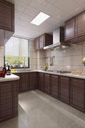 70平米一居室混搭风格厨房装修图片大全