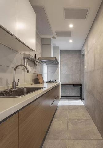 90平米三北欧风格厨房设计图