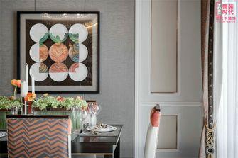 120平米三欧式风格餐厅设计图