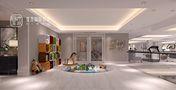 140平米别墅现代简约风格健身室图