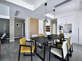 130平米三室一厅英伦风格餐厅装修效果图