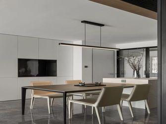 140平米三现代简约风格餐厅图