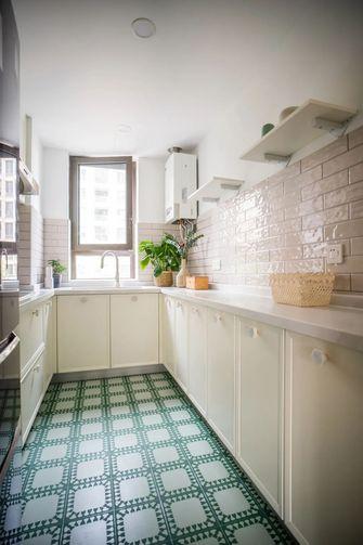 100平米四室一厅田园风格厨房欣赏图