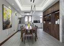 140平米三室两厅宜家风格餐厅欣赏图